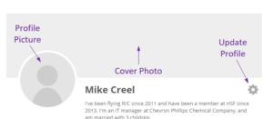 Update Profile graphic